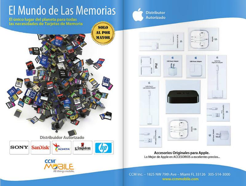 accesorios de celulares, apple, memoria