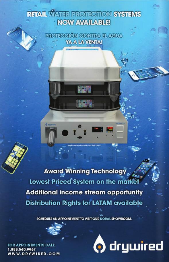protecion de agua y vento para celular