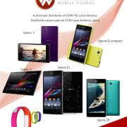 Xperia Z1, Z, ZR, Xperia tablet al por mayor
