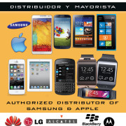 Distribuidor mayorista LG, Huawei, Blackberry, Motorola, Alcatel celulares