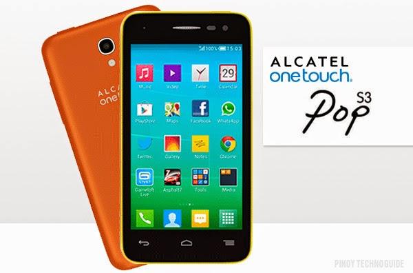 alactel one touch pop s3 celulares