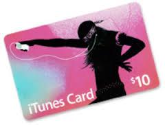 Itunes cards 10