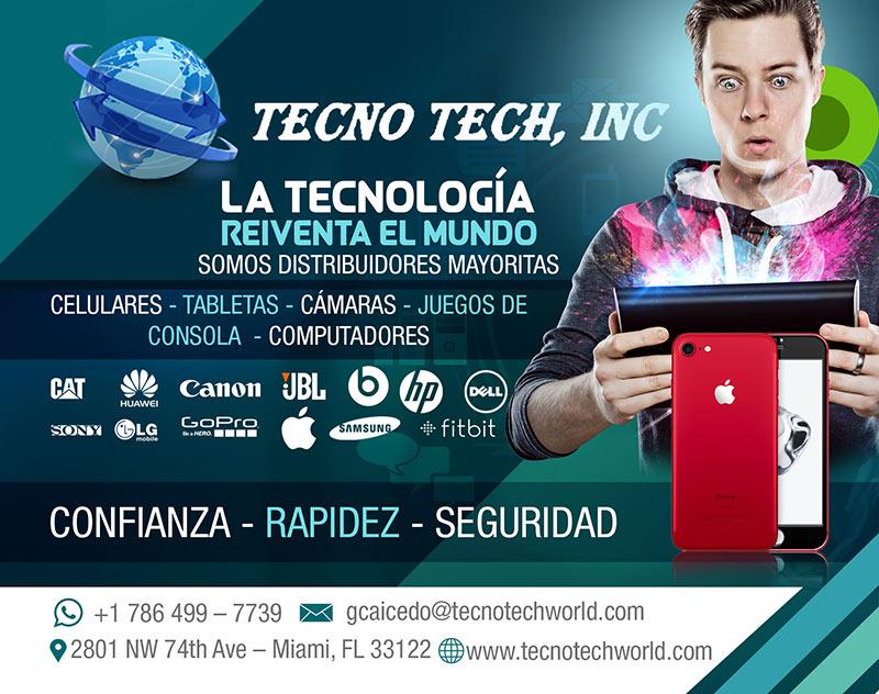 Tecno Tech: La Tecnologia Reiventa El Mundo