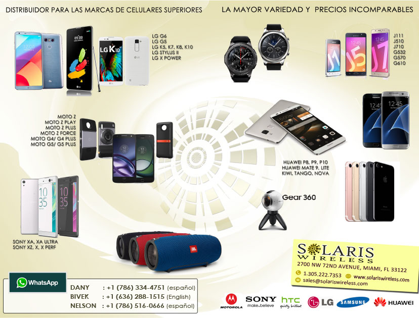 Distribuidor para las marcas de celulares superiores