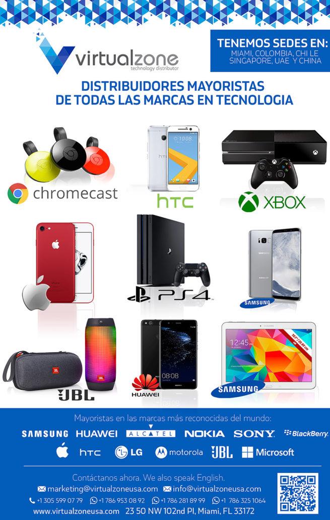 distribuidor de electronica de consumo desde eeuu