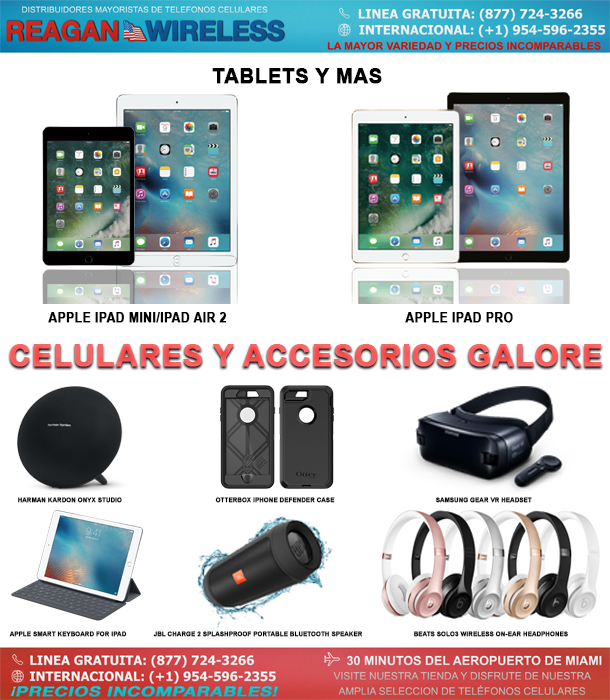 tabletas, accesorios y más