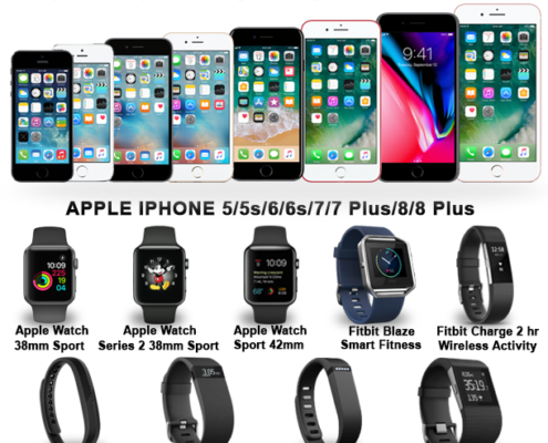 compre relojes inteligentes y teléfonos celulares