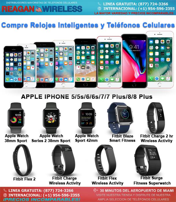 Compre Relojes Inteligentes y Teléfonos Celulares | Reagan Wireless