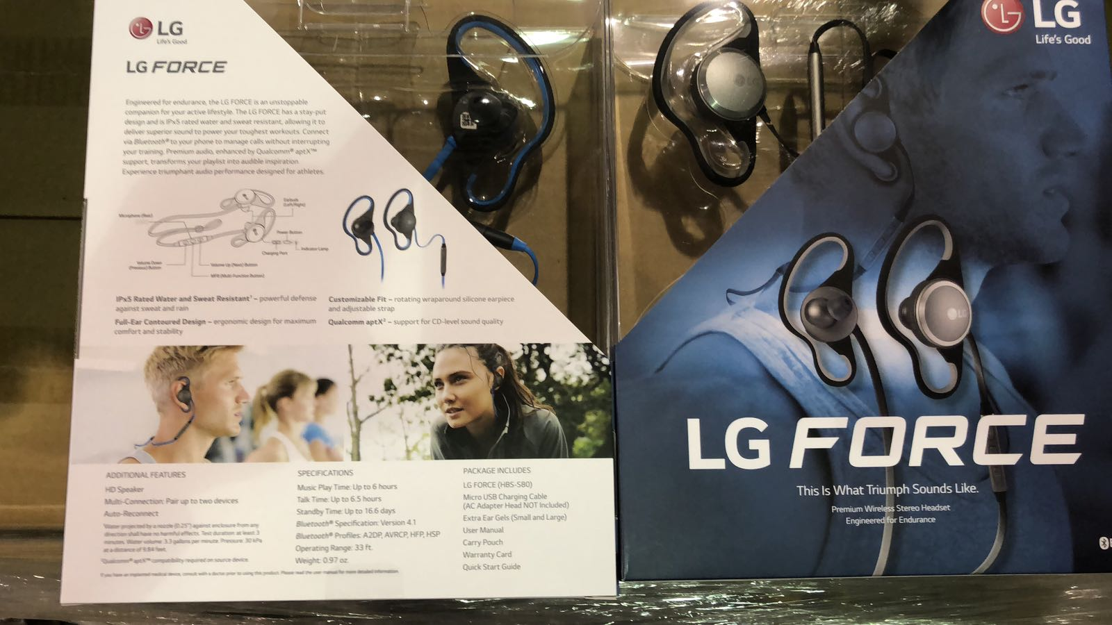 ? WTS: READY STOCK MIAMI | $24.95‼? LG Force HBS-S80!! BRANDNEW IN MASTER CARTON.