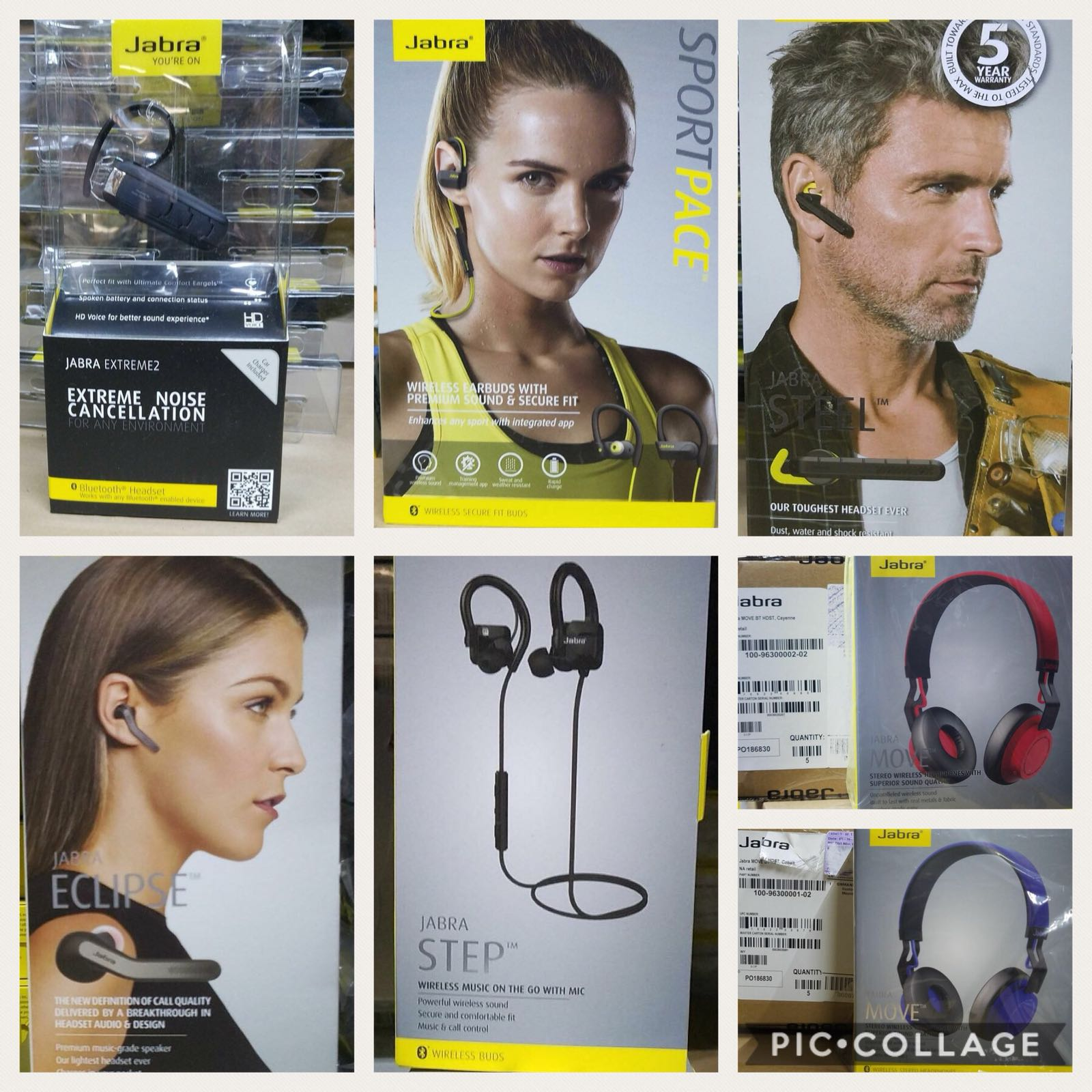 ?JABRA BLUETOOTH HEADSETS NOW AVAILABLE @ GLI? PM for full price list.