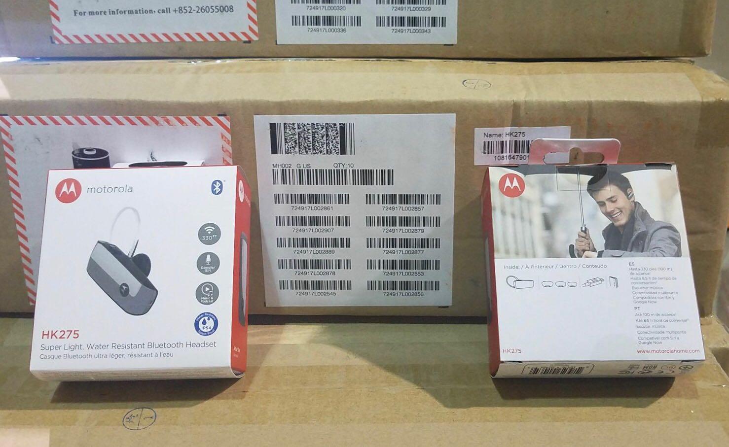 ??NOW IN STOCK @GLi MOTOROLA HK275 BLUETOOTH HEADSET??