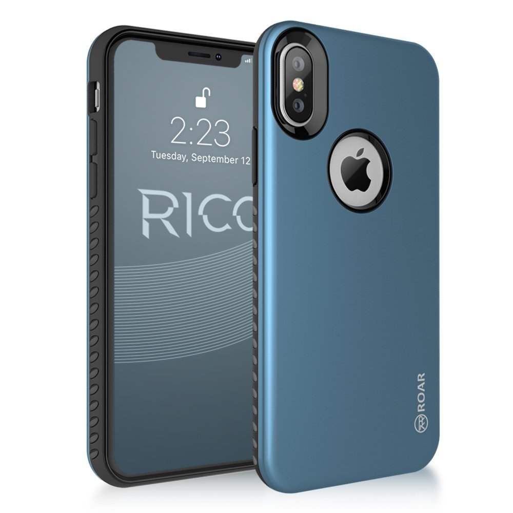 RICO Estuche para iPhone X, iPhone 8, iPhone 8 Plus, iPhone 7, iPhone 7 Plus, iPhone 6S, iPhone 6S Plus y iPhone 6