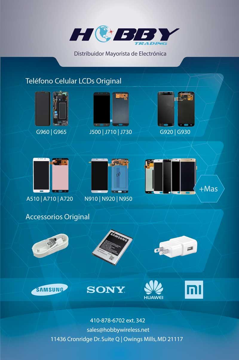 mayorista de partes de celulares, baterias, cargadores al por mayor