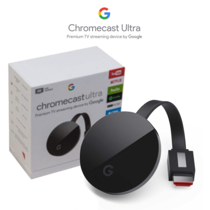 Google Chromecast Ultra 4K Streaming Device