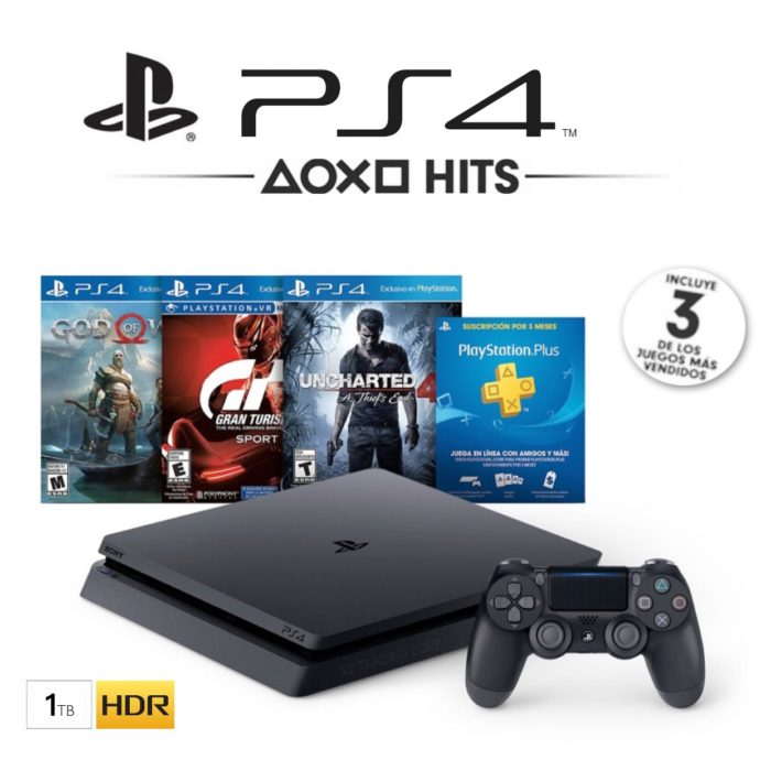 PlayStation 4 Slim 1TB Greatest Hits 3 Bundle