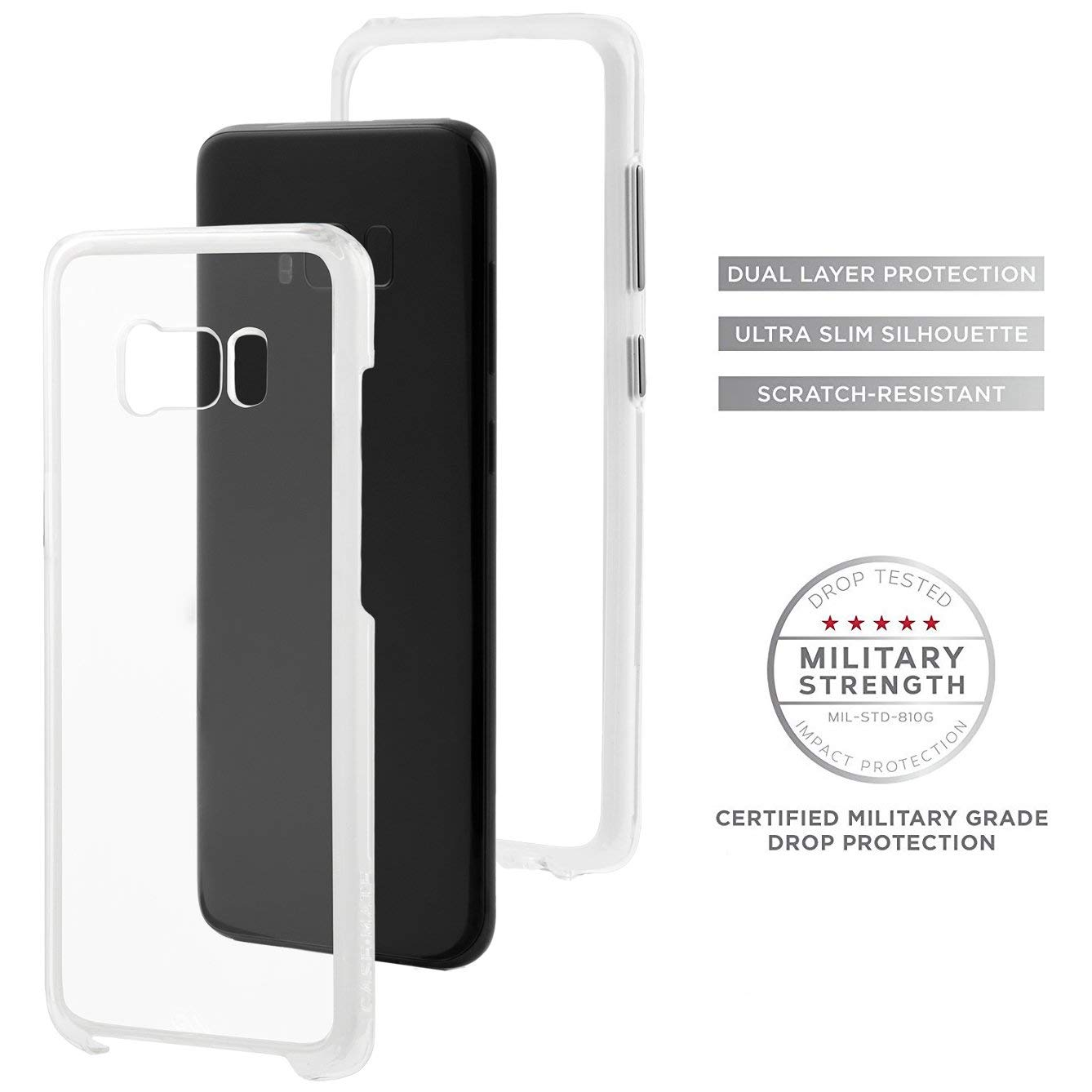 Brand New Master Carton Retail Case-Mate Samsung Galaxy S8+ Case - NAKED TOUGH - Clear Local In Miami!