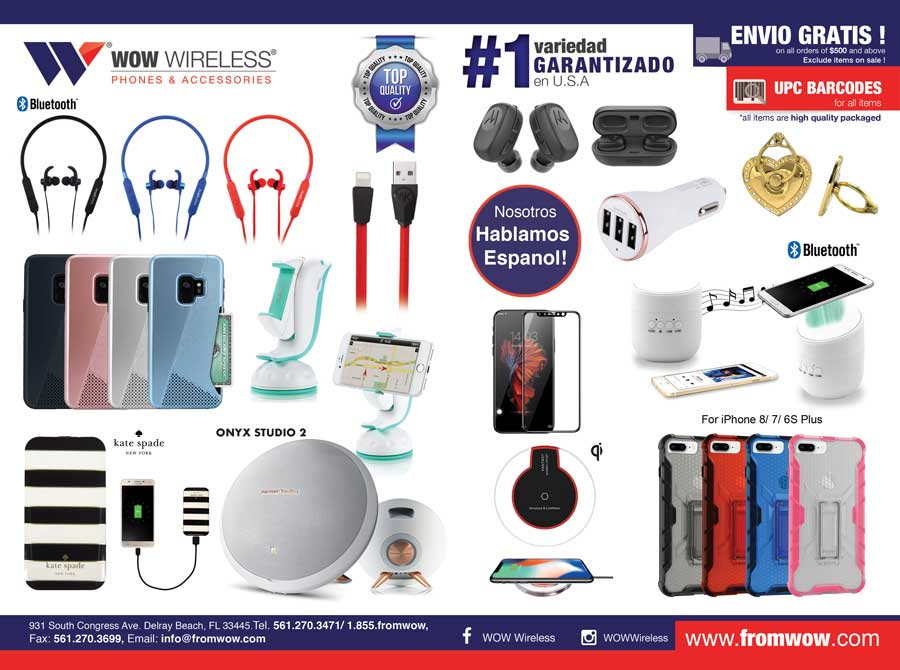 Estuches para iPhone, Auriculares, Cargadores, Bluetooth Altavoces, Cables y mas!