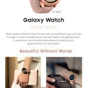 Galaxy watch rosa al por myaor