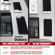 Ofertas de Iphone y Samsung