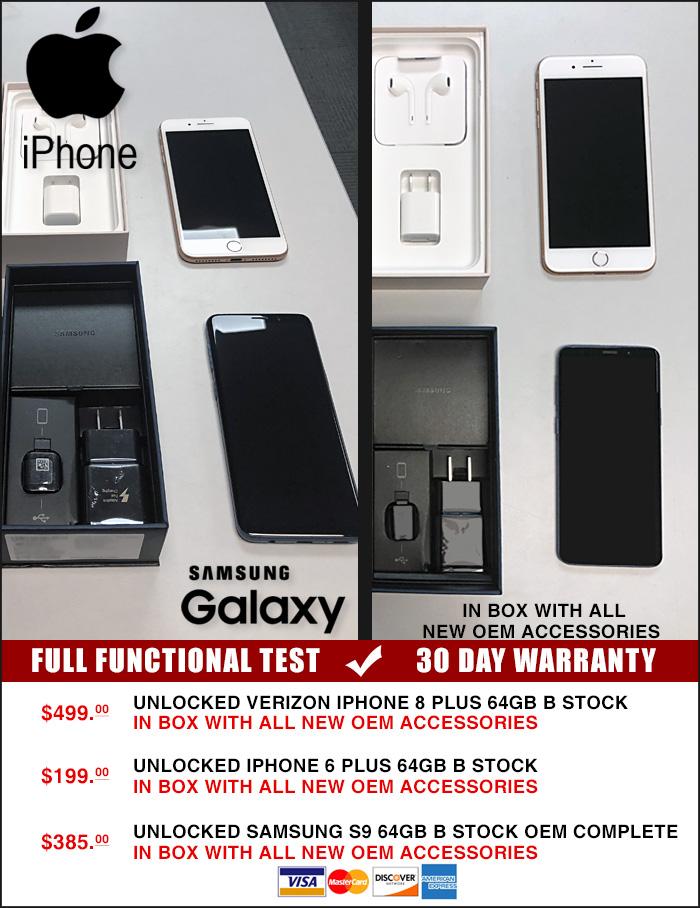 Ofertas de Iphone y Samsung