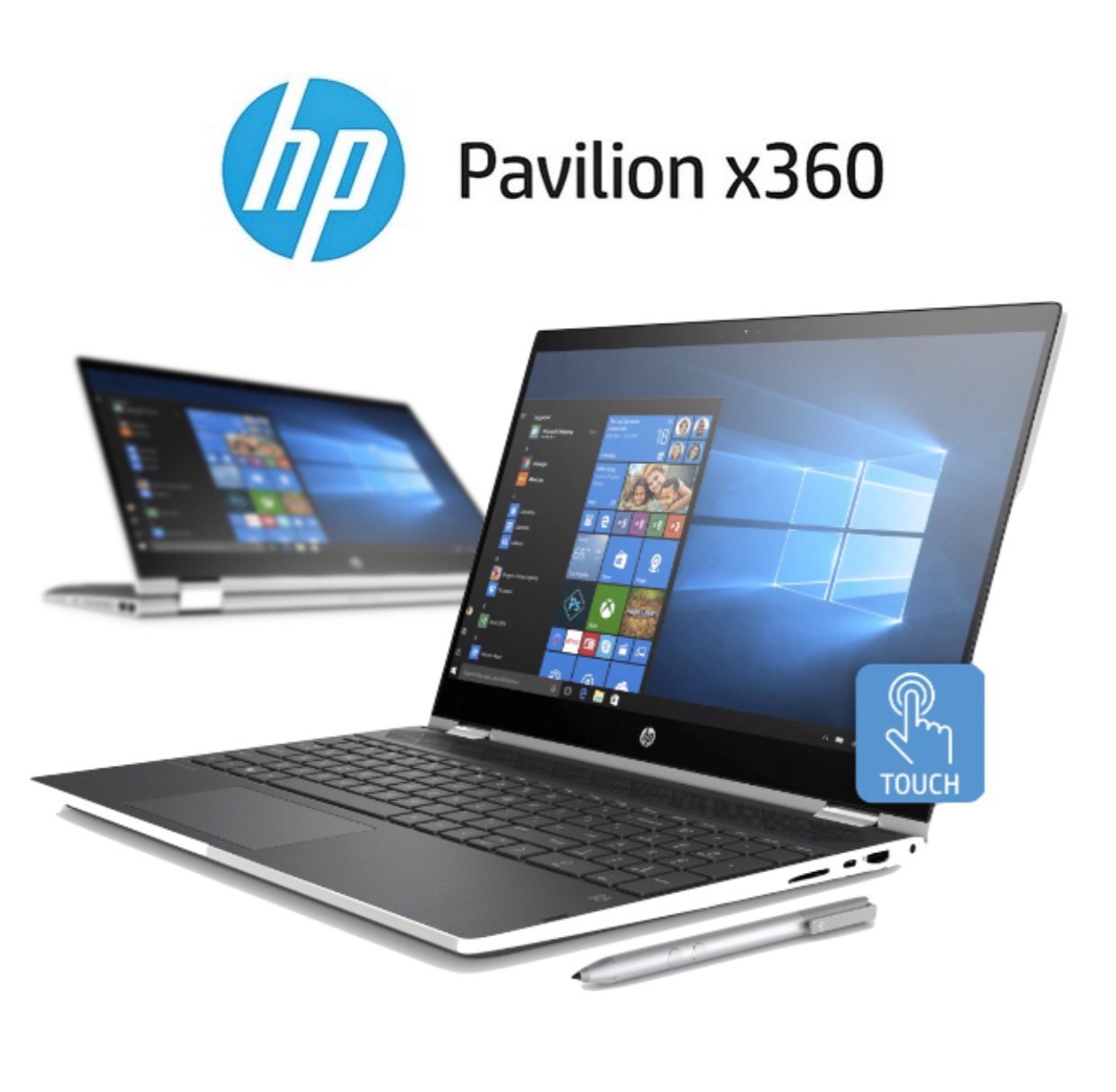 HP Pavilion X360 Convertible Laptop 15.6