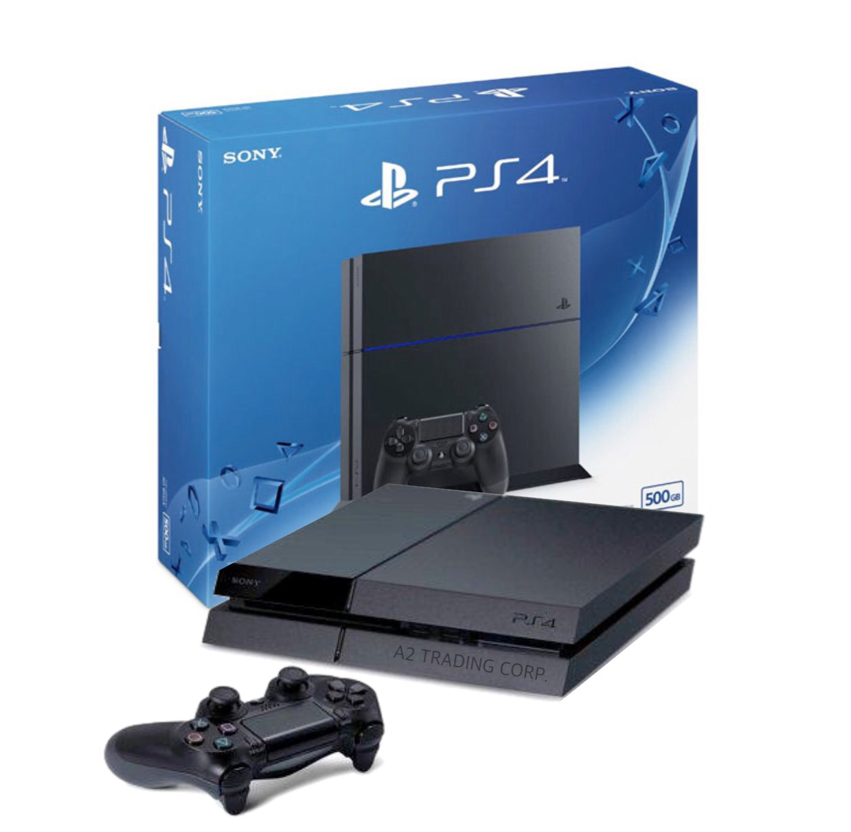 Sony PS4 Console 500GB - Black