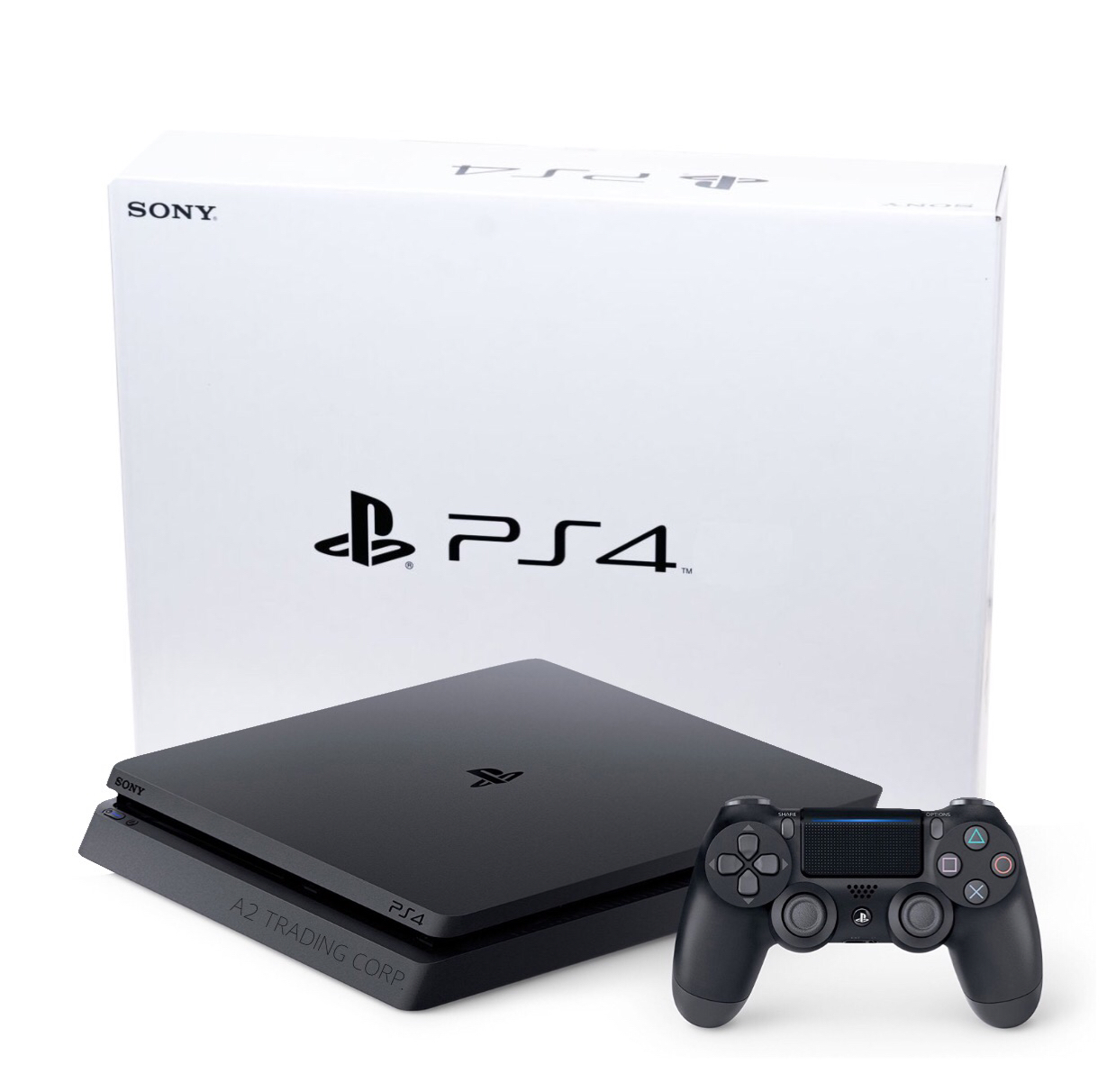 *BRAND NEW* Sony Playstation 4 Slim 1TB Console (White Box)