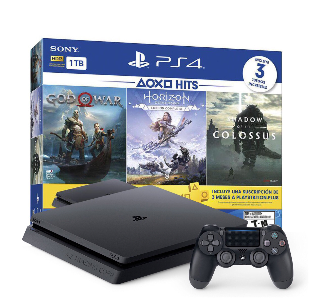 *NEW* Sony PlayStation 4 Slim 1TB Hits 4 Bundle with 3 Games, and more!