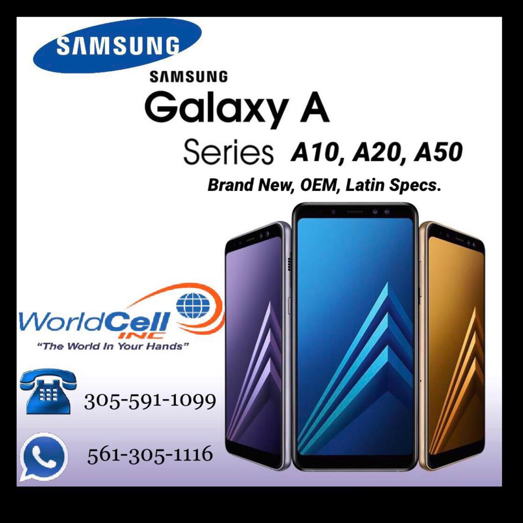 Samsung Galaxy Series A10, A20, A50