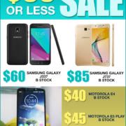 $99 or less! Mega Sale