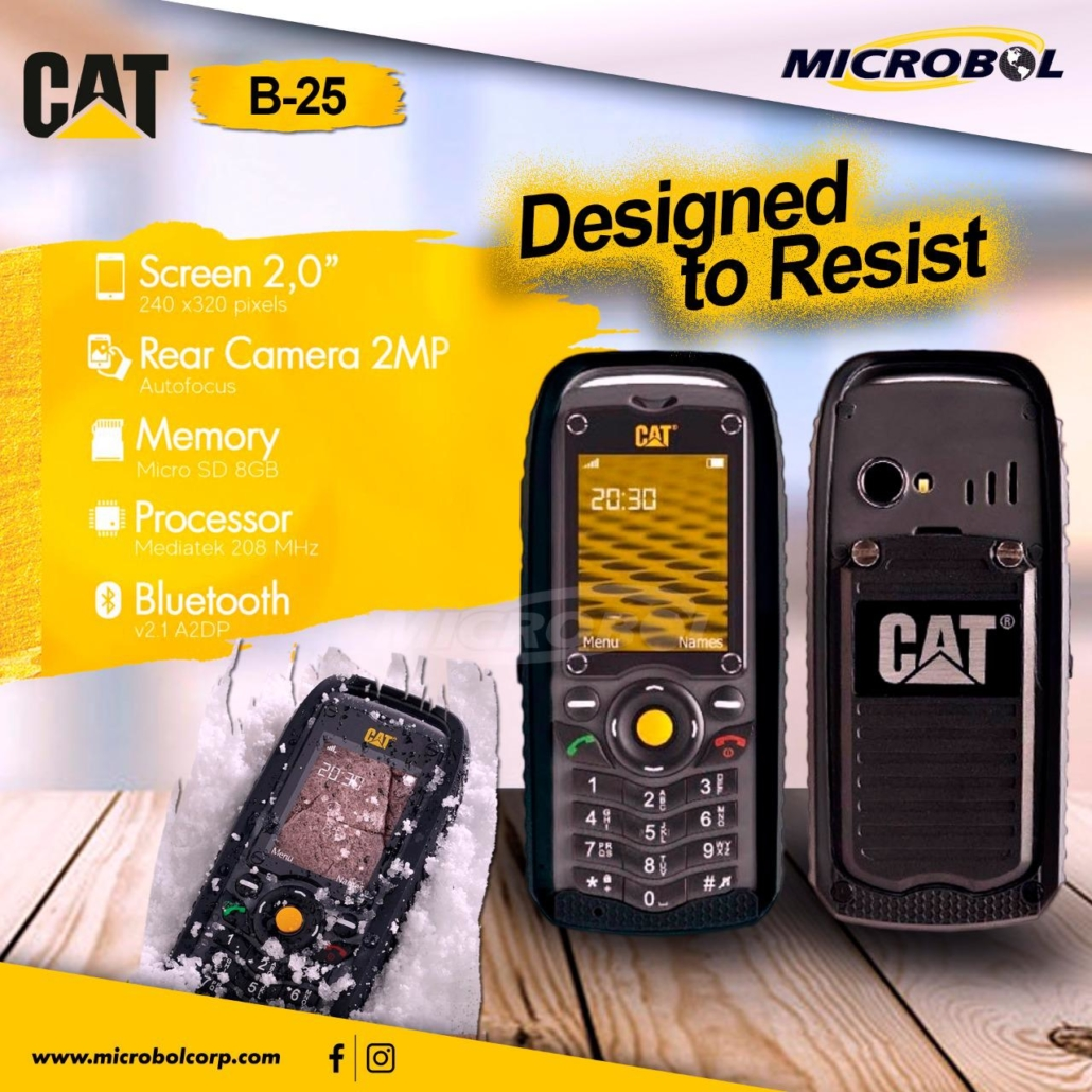 Cat B25 celulares