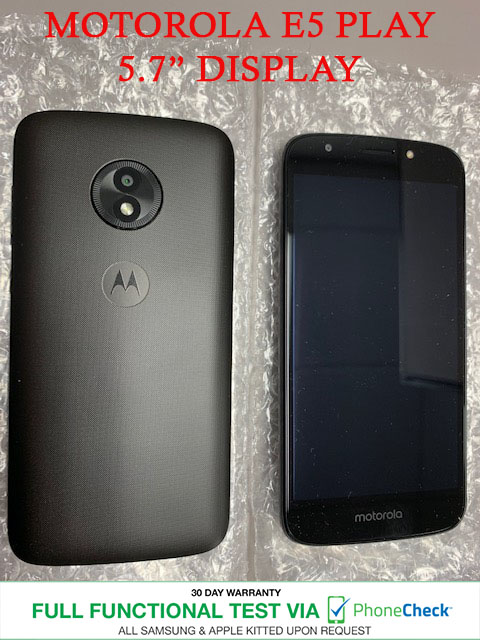E5 UNLOCKED CELLPHONES! ACCESSORIES! Motorola E5 Play