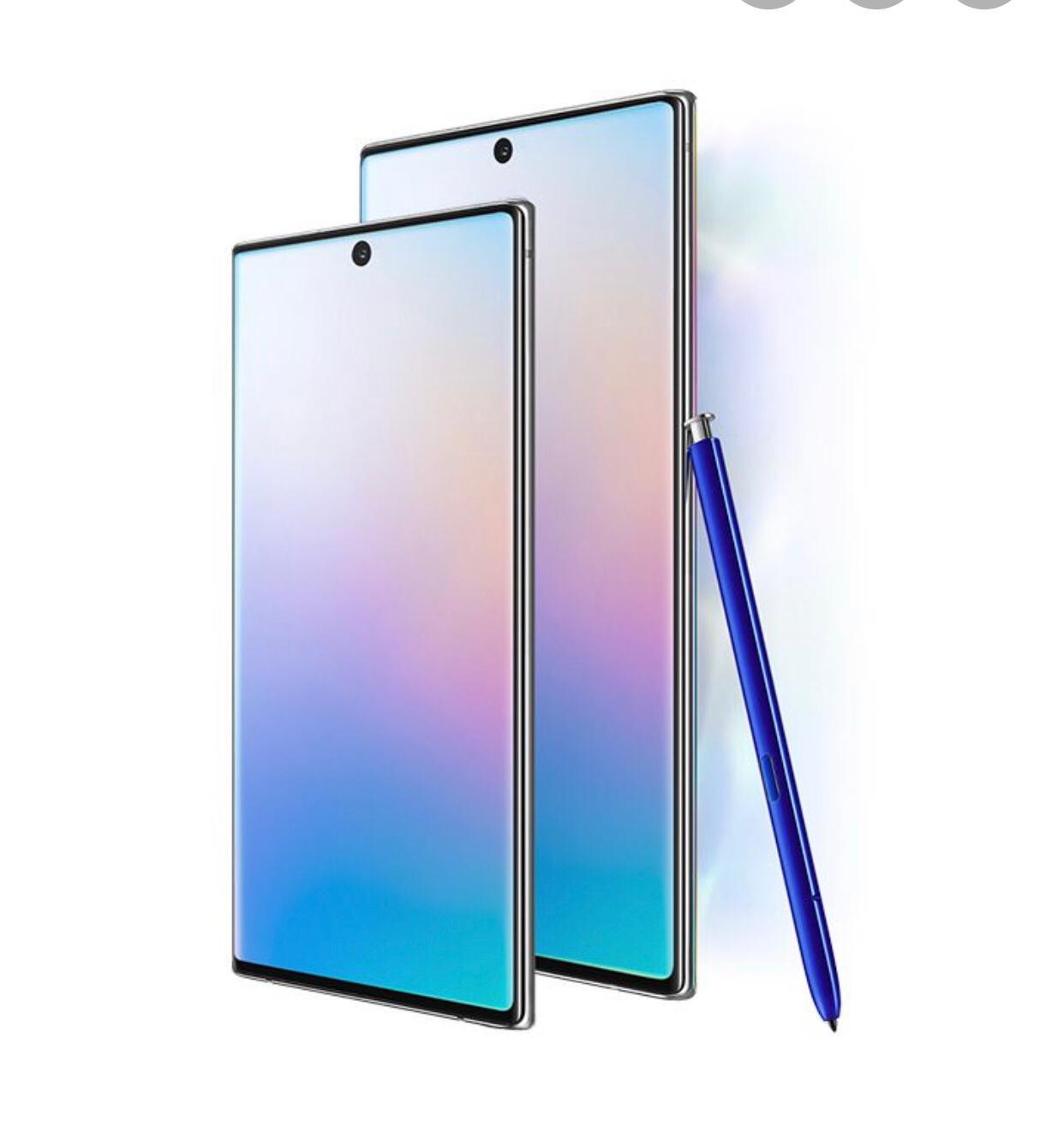 Samsung Note 10 y Note 10+, en stock ahora