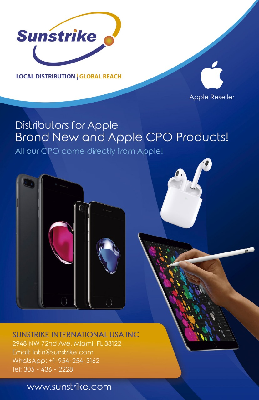 Sunstrike: Distribuidores de productos Apple, Brand New y Apple CPO