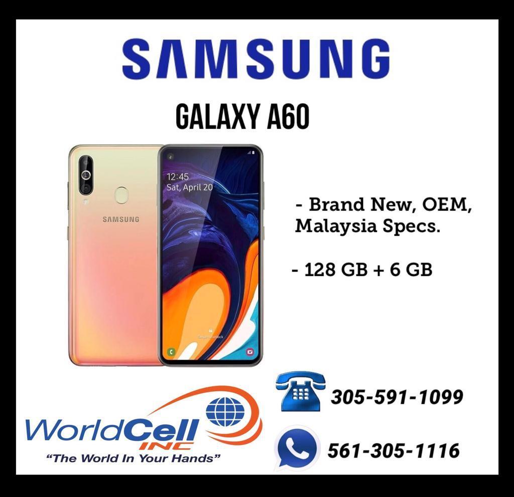 Samsung Galaxy A60 al por mayor