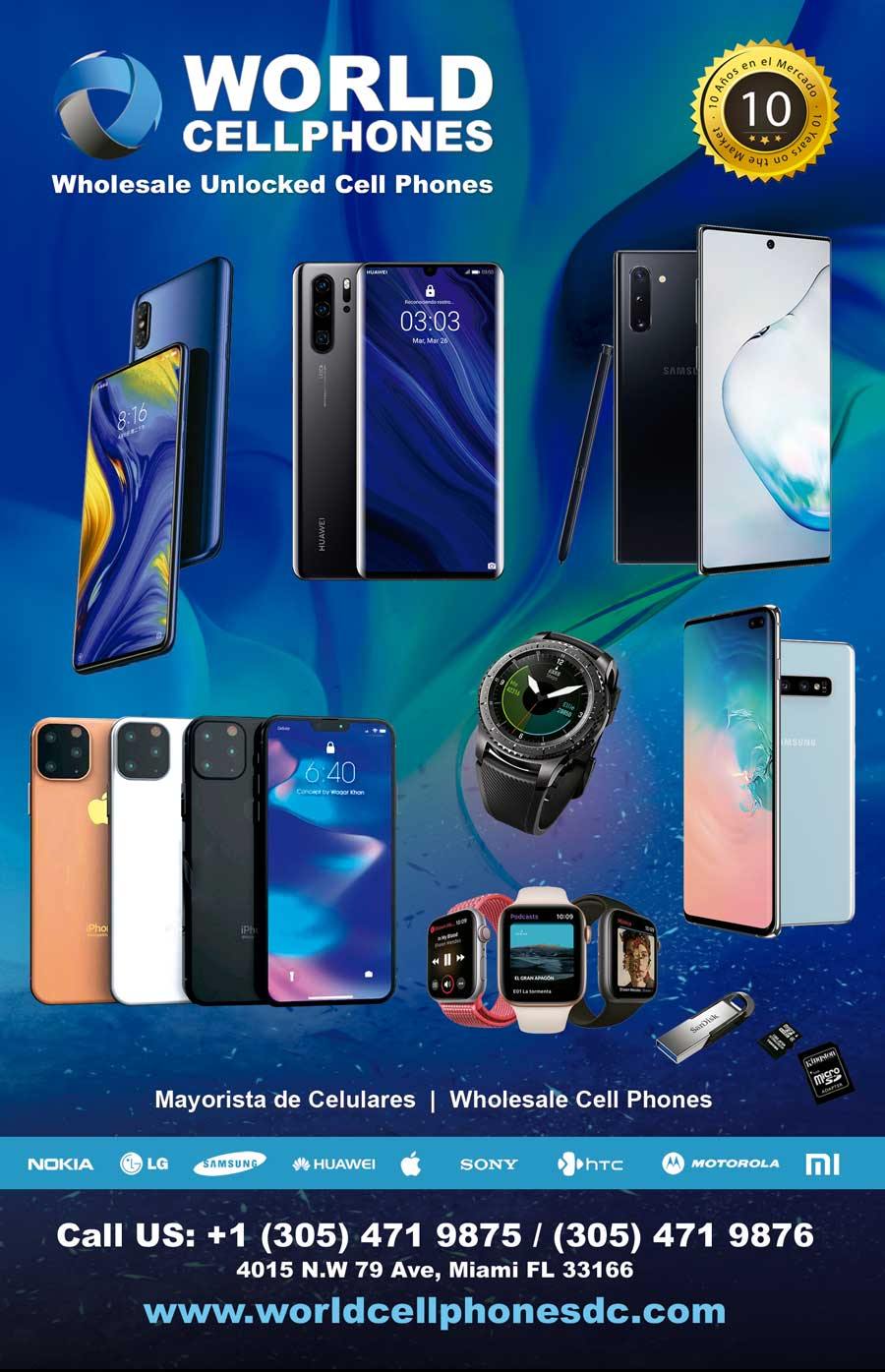 World Cell Phones DC: Distribuidor de Celulares Desbloqueado