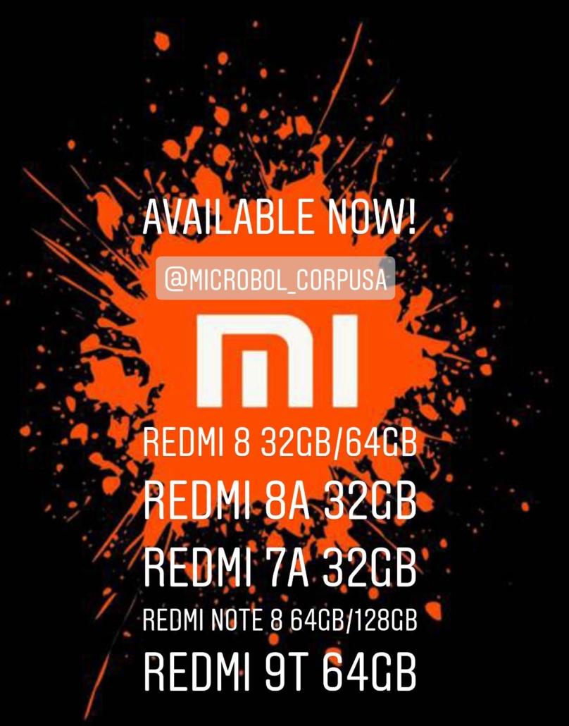 Redmi 7A, Redmi 9t celulares