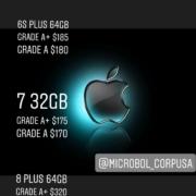 iPhone 6, 7, 8 Plus al por mayor