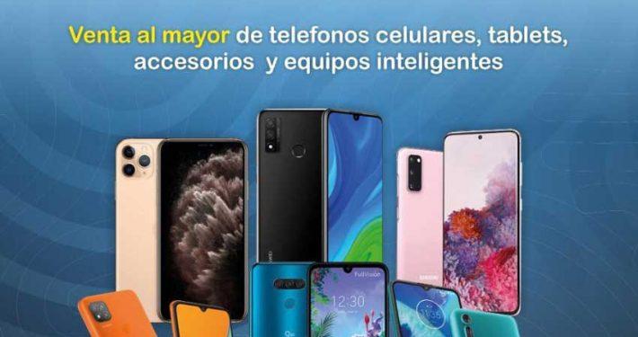 celulares, tablets al por mayor