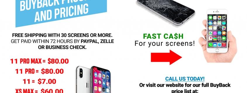 Accesorios de celulares, partes al por mayor