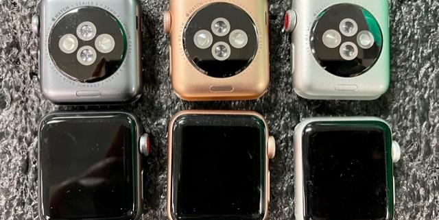 Apple Watches Series 3 al por mayor
