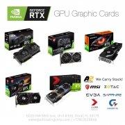 NVIDIA RTX GPU VGA Graphic Cards