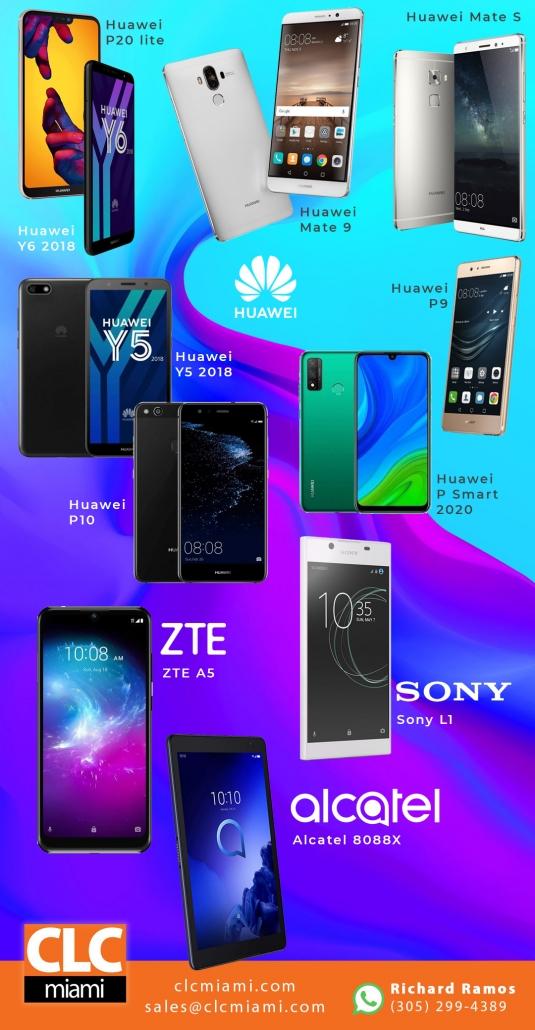 celulares android al por mayor