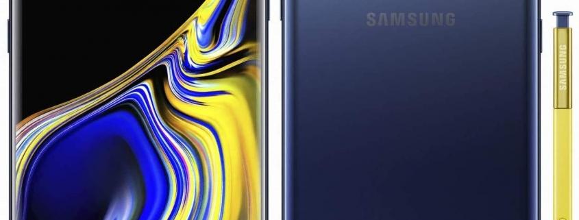Samsung Galaxy Note 9 al por mayor, distribuidores en eeuu